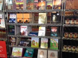 book display at State Fair